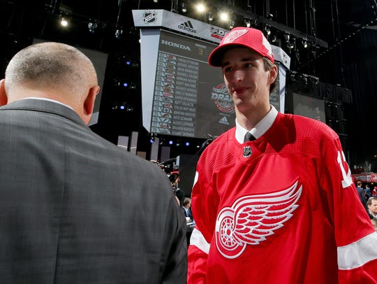 Keith Petruzzelli was selected with the No. 88 overall
