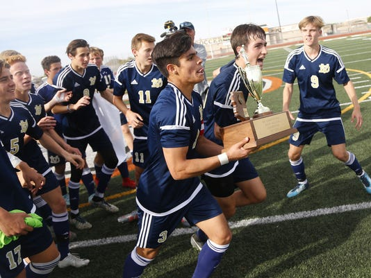 6A boys soccer final