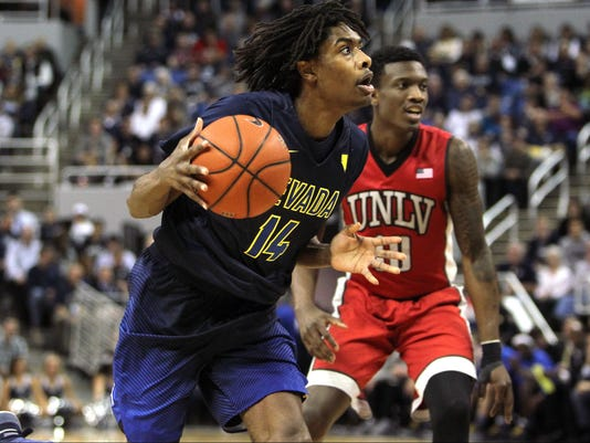NCAA Basketball: UNLV at Nevada