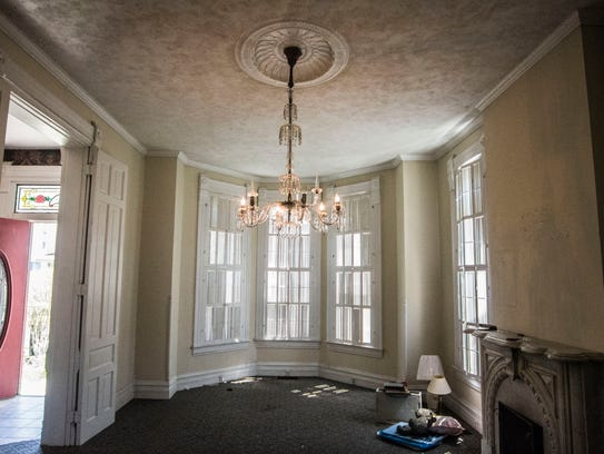 The inside of a historic Riichmond home at 74 S. 17th
