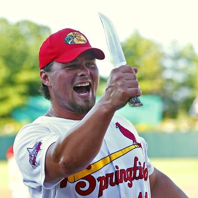 Former Missouri State star Luke Voit.