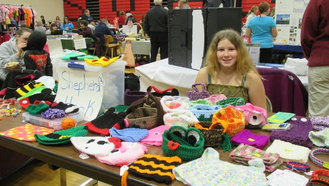 Calli Shepherd, of Shepherd's Hook, at a previous SVE Business Showcase. This year's Showcase is on March 5, 1-4 p.m., at SVE High School. Admission is free for the public and vendors.