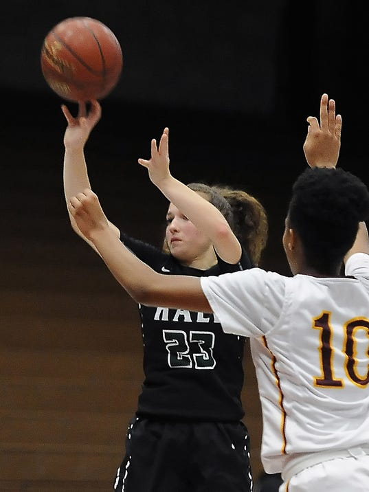Girls Basketball: Hale at Central