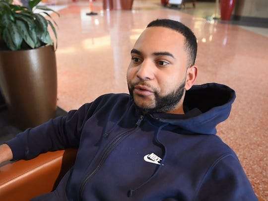 People around North Jersey talk about their New Year's resolutions.
