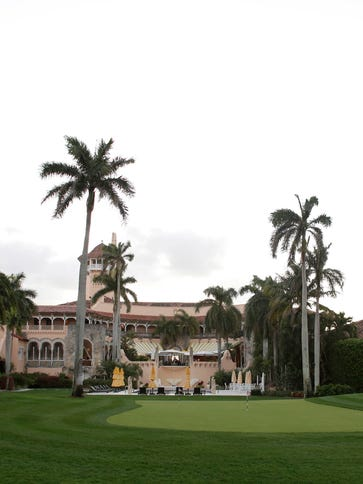 The Mar-A-Lago Club, owned by Republican presidential