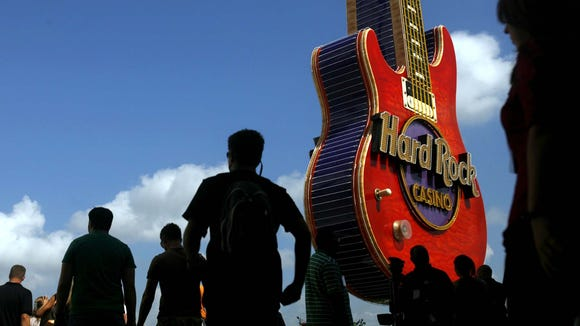 """The Hard Rock is offering free burgers to those willing to """"sing for their supper"""" tonight."""