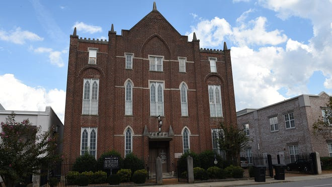 Historic Franklin Masonic Hall  is located on 2nd Ave in Franklin, Tenn.