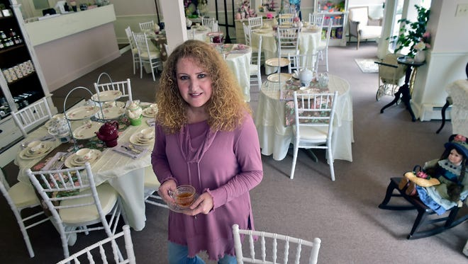 Terri Hurst is opening Kristtany Tea & Gifts at 177, South Main Street, Chambersburg.