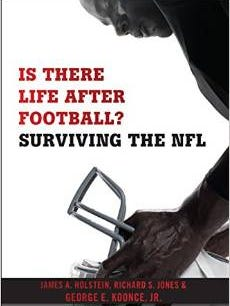 """Is There Life After Football? Surviving the NFL"" was co-authored by George Koonce, along with James Holstein and Richard Jones."
