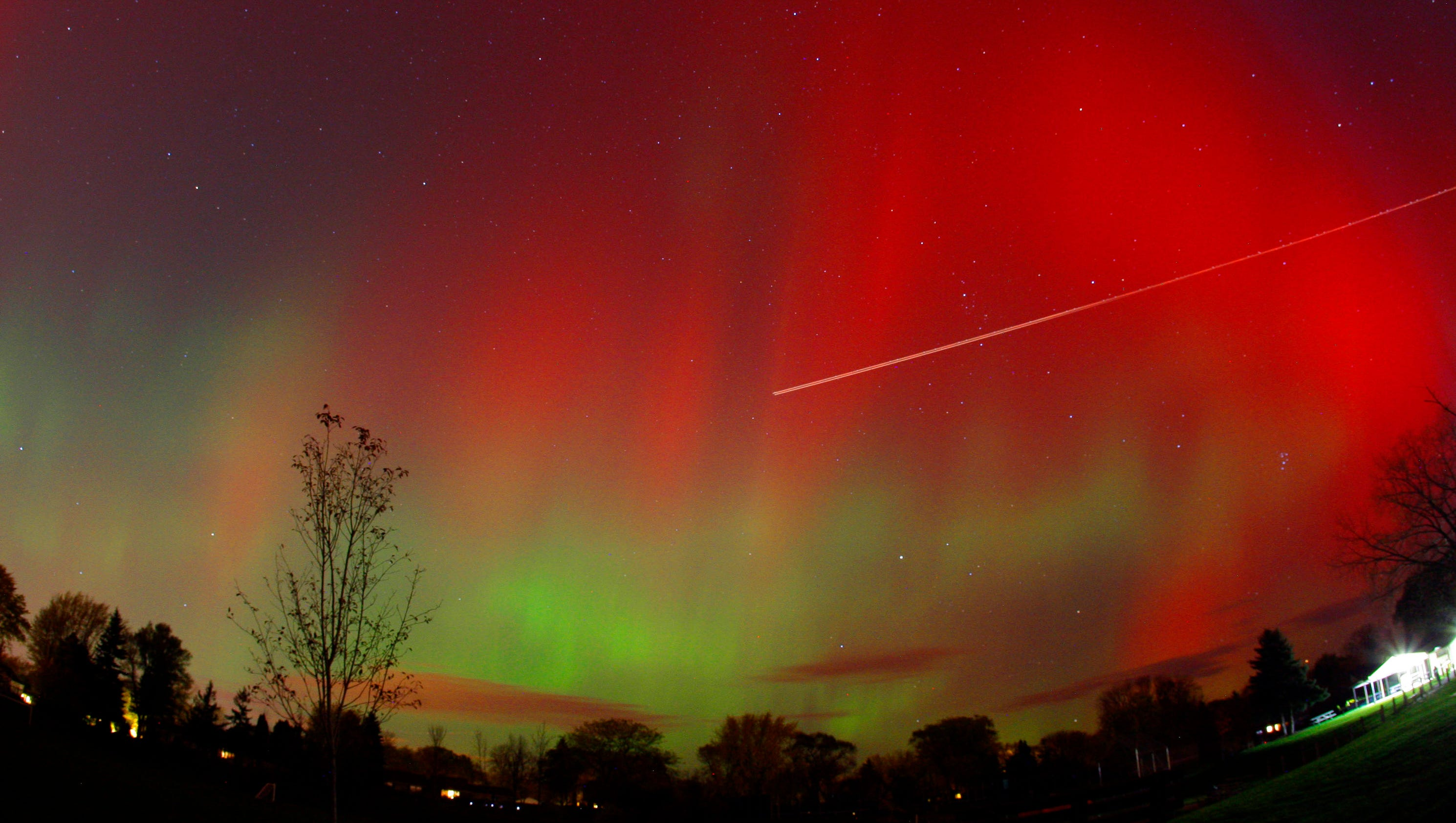 Northern Lights Could Brighten Night Sky In Wisconsin On