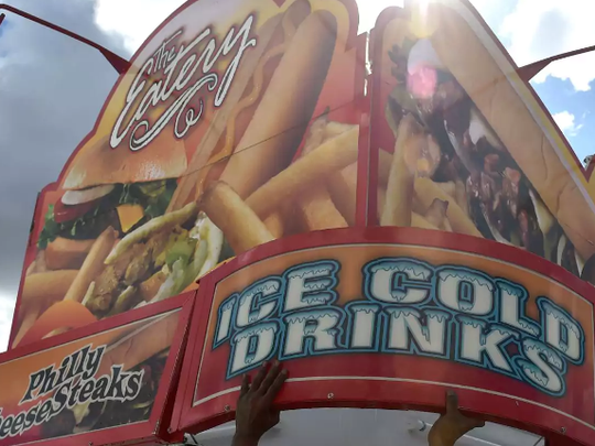 Traditional fair foods are part of the overall experience. The St. Lucie Fair starts Friday and continues throughMarch 5.
