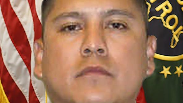 U.S. Border Patrol Agent Rogelio Martinez