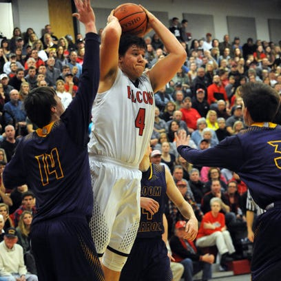 Fairfield Union junior Colin Woodside loves playing