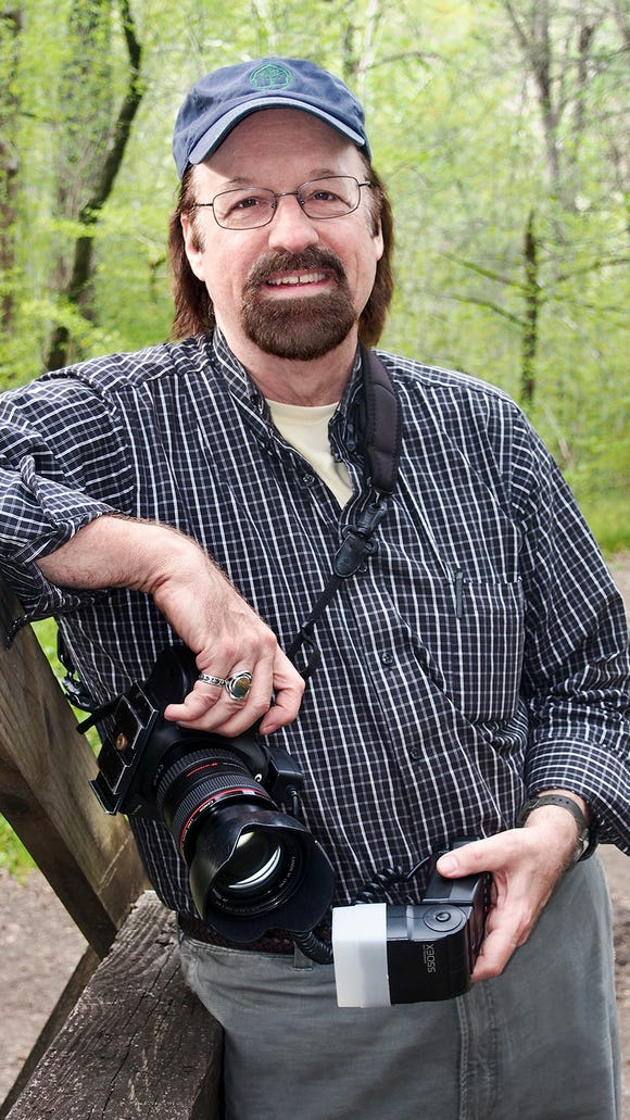 "Asheville master photographer Tim Barnwell presents his book, ""Blue Ridge Parkway Vistas"" March 29 at the Parkway Visitor Center."