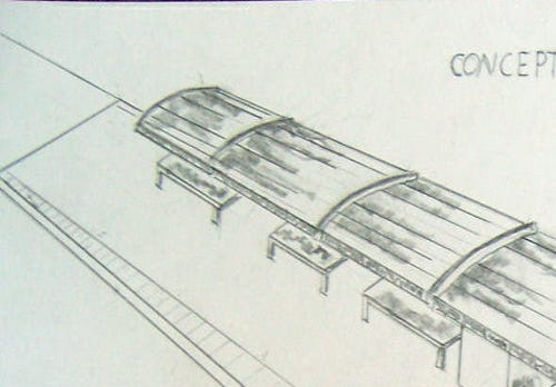 Two dozen station designs have been submitted by the