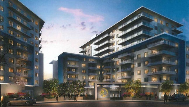 Scottsdale-based Deco Communities wants to build two 10-story luxury apartment towers in downtown Scottsdale.