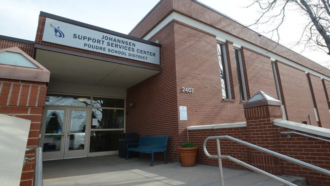 The Johannsen Support Sevices Center houses the administrative offices of Poudre School District and the regular meeting room for PSD's Board of Education.