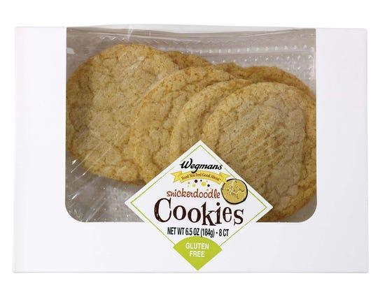 Snickerdoodles join Wegmans' gluten-free lineup.