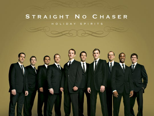 Vocal group Straight No Chaser (cq/dl) (from left,