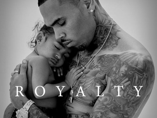Chris Brown's seventh album, 'Royalty,' out Friday.