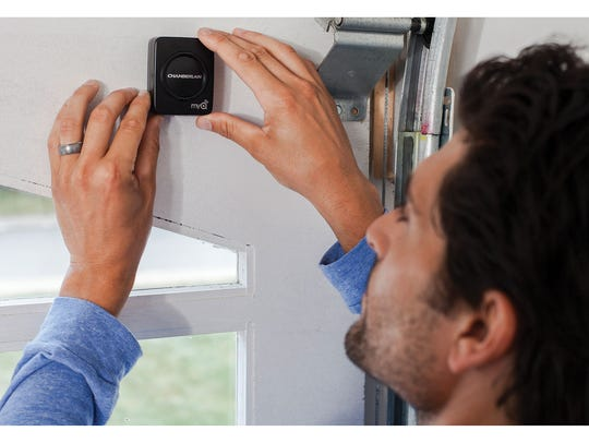 Open and close your garage door from anywhere this