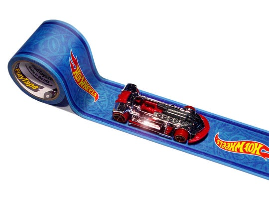 Hot Wheels Play Tape