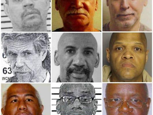 Civil confinement mugshots