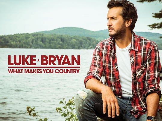 "Luke Bryan's sixth studio album ""What Makes You Country"""