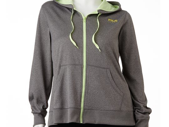 A FILA Hooded Fleece-Lined Jacket from Kohl's.