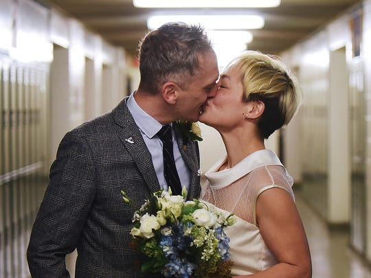 Clifton couple Jennifer and Chris Gash get married