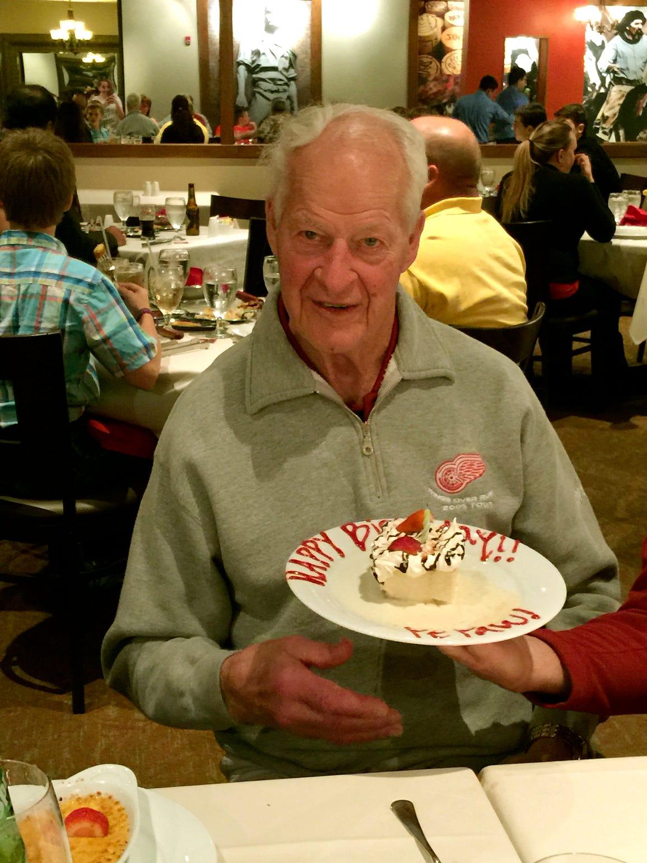 Gordie Howe celebrates his 87th birthday on March 31.