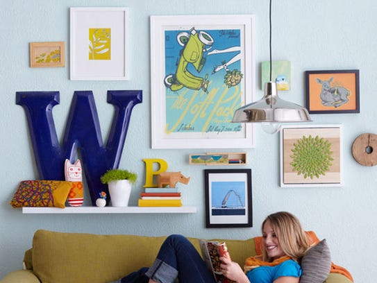 Put your personality on display with a creative gallery