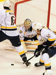 The Predators need a healthy Mike Fisher, Pekka Rine