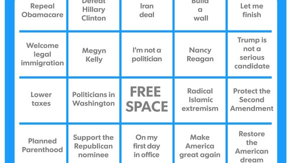 It S Time For Another Round Of Debate Bingo