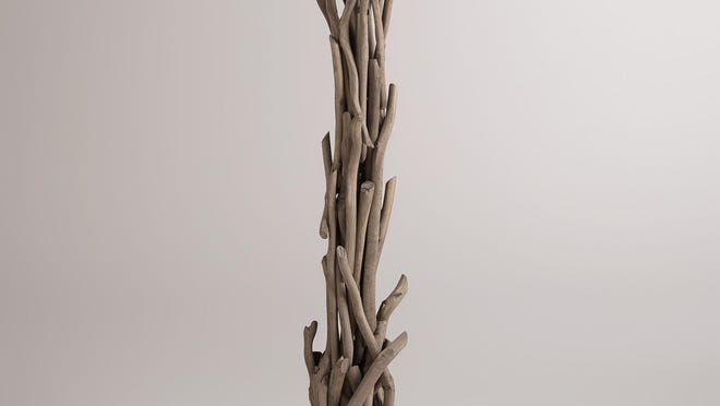 A natural touch for your home decor. Driftwood floor lamp, $199.99 at Cost Plus World Market.
