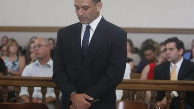 Glenn Siembor at his sentencing