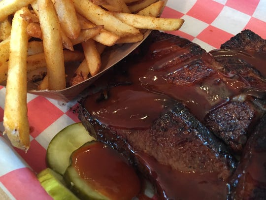 Brisket and fries from Marty's on Park.