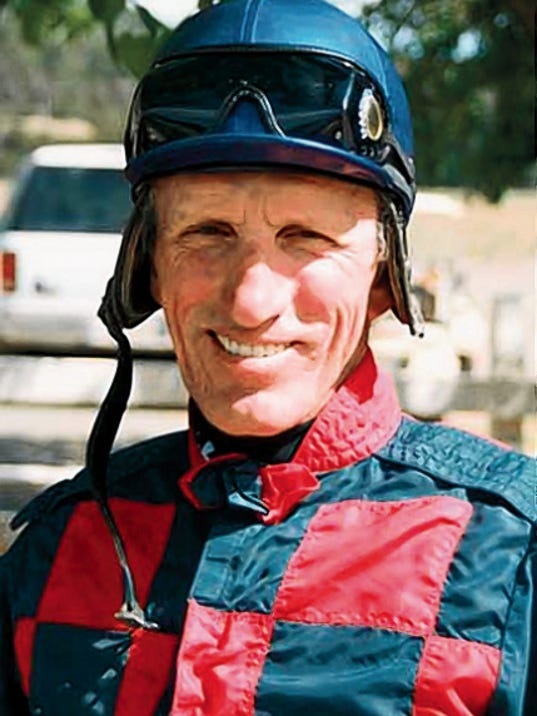 FileThe Memorial Service for jockey Jacky Martin will be held at 11 a.m. in the All American Turf Club on Monday. It is open to the public. Martin won a record seven All American futurities at Ruidoso Downs and was the first jockey inducted into the Ruidoso Downs' Racehorse Hall of Fame. He was 59 when he died April 4. FileThe Memorial Service for jockey Jacky Martin will be held at 11 a.m. in the All American Turf Club on Monday. It is open to the public. Martin won a record seven All American futurities at Ruidoso Downs and was the first jockey inducted into the Ruidoso Downs' Racehorse Hall of Fame. He was 59 when he died April 4.