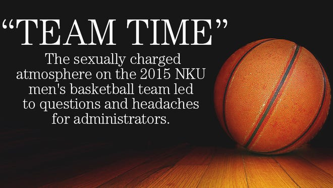 The sexually charged atmosphere on the 2015 NKU men's basketball team led to questions and headaches for administrators.