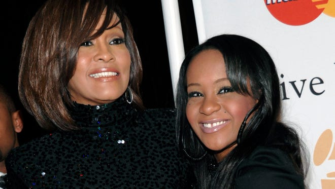 Whitney Houston and her daughter, Bobbi Kristina Brown, in 2011.