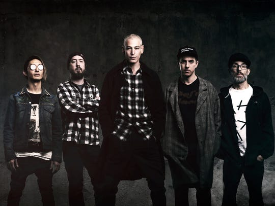 "Matisyahu and the ""Undercurrent"" band"