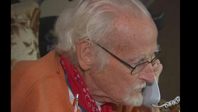 When an 81-year-old North Carolina man returned home from spending months in the hospital he had no food and no one to turn to.