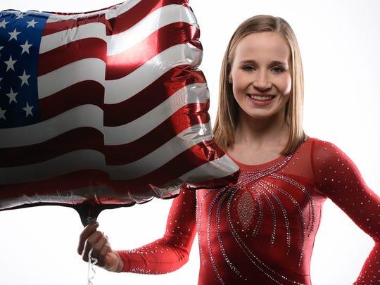Madison Kocian won a gold medal at the 2015 world championships