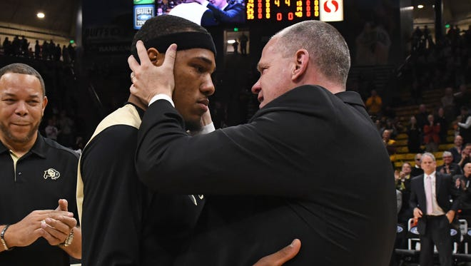 Colorado coach Tad Boyle can get paid bonuses if his players are good students and citizens off the court.