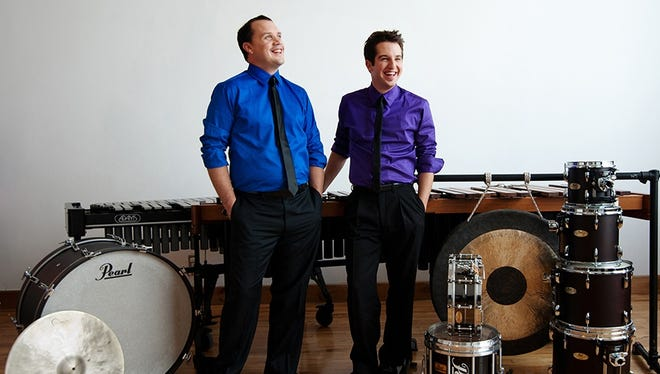 Duo Percussion, consisting of Dave Robilliard and Brennan Connolly, will perform with the International Symphony Orchestra.