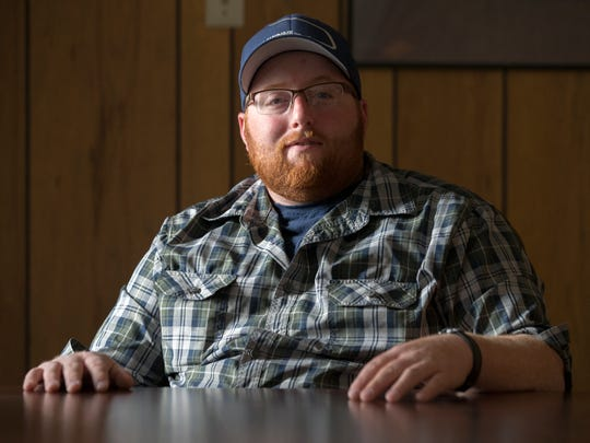 Joey Buttram, 31, Avon, helps feed his family by hunting game in rural areas. He does not consider hunting a hobby, but a way of life. Because of that, he considers himself politically moderate on gun issues. It's important to him that hunters can own shotguns and rifles.