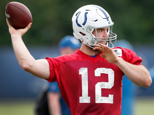 Indianapolis Colts minicamp