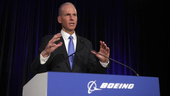 """As in most accidents, there are a chain of events that occurred,"" Chief Executive Officer Dennis Muilenburg  said, referring to the Lion Air crash on Oct. 29 and the March 10 crash of an Ethiopian Airlines Max. ""It's not correct to attribute that to any single item."""