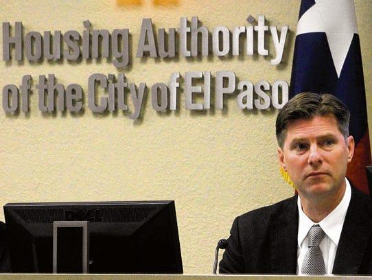 Gerald Cichon is CEO of the El Paso Housing Authority.