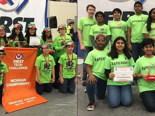 NNO middle school robotics